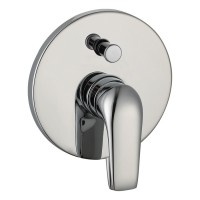 Johnson Suisse Tuscany Concealed Bath-Shower Mixer with Diverter